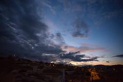 Stormy sky to the south (Keith Williamson) Tags: sky dramatic darkened rain clouds night