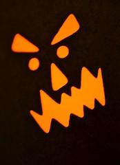 HMM - backlit (danalcreek) Tags: macro monday backlit light jackolantern holiday halloween eerie spooky spirits ghostly