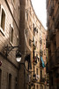 Alley Way (teltone) Tags: barca barcelona gaudi architecture spain designer autumn 2016 holiday roadtrip flaneur tour street tourist curves building sonyrx100m4