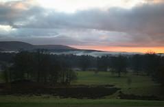 Sunrise on Drumlanrig Castle Estate (ALANSCOTT1) Tags: thornhill duke dumfriesshire sunrise fishing december winter