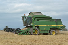 John Deere 2264 Combine Harvester cutting Winter Barley (Shane Casey CK25) Tags: john deere 2264 combine harvester cutting winter barley wb jd ballyhooly glanworth grain harvest grain2016 grain16 harvest2016 harvest16 corn2016 corn crop tillage crops cereal cereals golden straw dust chaff county cork ireland irish farm farmer farming agri agriculture contractor field ground soil earth work working horse power horsepower hp pull pulling cut knife blade blades machine machinery collect collecting mähdrescher cosechadora moissonneusebatteuse kombajny zbożowe kombajn maaidorser mietitrebbia nikon d7100