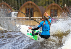 Surf Snowdonia (Photography by inspired images) Tags: pro surf snowdonia wales visitwales waves water beer surfing barrel sport action sportsphotography canon canon5dmkiii cool wet wetsuit cold autumn surfinthemountains ripcurl dryrobe surfboard fresh freshwater whitewater women men athletes championship tour official greatbritain uk surfsup