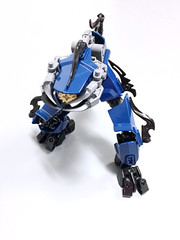 Tactically Gracile Drone 4 (Ballom Nom Nom) Tags: bionicle lego robot cyclops drone