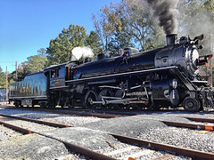 Summerville Steam Special (Howell Weathers) Tags: summervillesteamspecial steamengine steam engine tennesseevalleyrailroad tennvalleyrr tvrr 4501 282 mikado