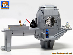 BESPIN CONTROL ROOM 2 (baronsat) Tags: bespin control room luke vader duel cloud city lego moc custom model diorama playset esb