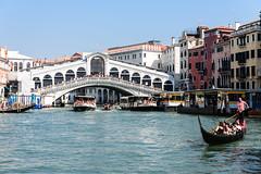 Venice, Italy - Rialto Bridge (GlobeTrotter 2000) Tags: bridge europe gondola grand grandcanal italy love marco san venice canal rialto toursim visit