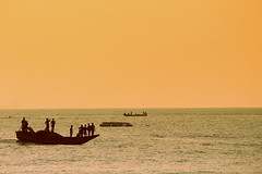 One boat (Dream.wide.open) Tags: india vizag ocean sea water boat people scenic nature flickr
