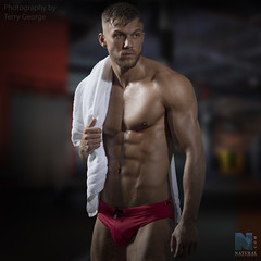 Dexter Brierley NFM (TerryGeorge.) Tags: dexter terry george natural fitness models abs six pack workout toned athletic muscle shirtless male underwear model fit naked sexy