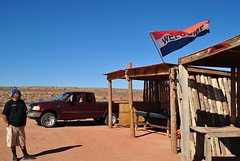 Navajo Roadside Kiosk (appaIoosa) Tags: ©appaloosa ©appaloosaallrightsreserved dine navajo navajonation navajoreservation navajonationreservation milemarker13 utah