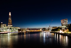 Transmissions? (Anthony Plancherel) Tags: category citiestowns cityhall england london nightscenes places riverthames theshard travel travelphotography night nightscape nighttime dusk reflection reflections reflectedlight buildings modernarchitecture modernbuildings officebuilding officeblocks office thames thamesside lightstars lights lightsatnight canon canon70d canon1585mm thewalkietalkie city cityscape skyline capitalcity capital english british greatbritain uk unitedkingdom britain waterfront water bridge architecture outside outdoor sky