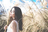 IMG_1201 (Yi-Hong Wu) Tags: 芒花 芒草 秋芒 季節 花 草 女孩 女 女生 女子 女人 女性 外拍 煙 eos6d 可愛 性感 美 唯美