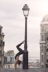 (dimitryroulland) Tags: nikon d600 85mm 18 dimitry roulland gym gymnast gymnastics dance dancer handstand balance flexible people flexibility natural light paris montmartre city urban street