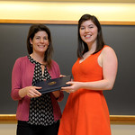 Professor Eva Pomerantz, Sarah Zola: Honors in Psychology & James E. Spoor Scholarship recipient