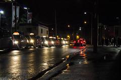 Taxis (Aaron Allen Rogers Toronto) Tags: taxis night downtown urban city raining rainy rain wet reflections toronto dark