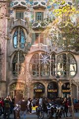 Casa Batlló, Barcelona (Edgar Duran Calderón) Tags: street barcelona canon calle carrer