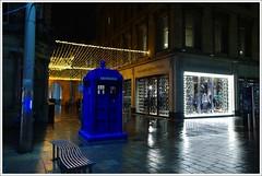 Buchanan Street Police Box (Ben.Allison36) Tags: buchanan street glasgow night shot scotland christmas lights police box telephone hand held