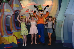 Epcot (Elysia in Wonderland) Tags: disney world orlando florida elysia holiday 2016 epcot goofy funny ears hair becca lucy