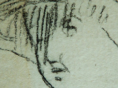 MILLET Jean-Franois,1850 - Dpart pour le Travail, Etudes - The Walk to Work (drawing, dessin, disegno-Louvre RF11192-Recto) - Detail 46 (L'art au prsent) Tags: drawing dessins dessin disegno personnage figure figures people personnes art painter peintre details dtail dtails detalles 19th 19e dessins19e 19thcenturydrawing 19thcentury detailsofdrawings detailsofdrawing croquis tude study sketch sketches jeanfranoismillet millet jeanfranois dpartpourletravail thewalktowork louvre labour travail portrait personne head tte pose model visage face homme man men peasant peasants paysan farmer farmers agriculture farming garon boy kid enfant child hat chapeau