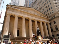 Federal Hall (pobrecito33) Tags: nyc newyorkcity ny newyork manhattan financialdistrict wallstreet lowermanhattan federalhall wallst