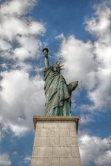 Statue of Liberty, Paris (pixiprol) Tags: cloud paris france statue french liberty europa europe capital nuage francia hdr liberte bartholdy