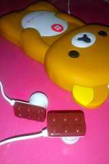 Rilakkuma (DeizeArcos) Tags: pink cute chocolate case kawaii rilakkuma