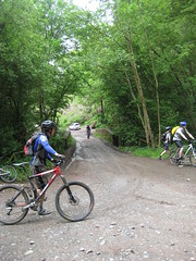 Start of the first big offroad climb of the day (neil.finnes) Tags: dorset rough brecon beacons riders