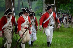 Revolution_140 (Sharp Perspective Photography) Tags: history colonial british reenactment colony musket firelock