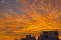 - Burning clouds - Taichung City (prince470701) Tags: sunset clouds taiwan burningclouds  sigma70300mm  taichungcity sonya850