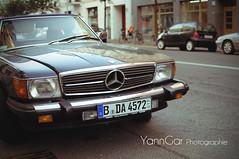 Old Mercedes (@YannGarPhoto) Tags: auto street old b berlin car germany mercedes benz nikon bokeh voiture mm nikkor 35 rue allemagne flou vieille allemand alten d5000 yanngar