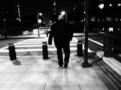 The Night Walker (Christinalanee) Tags: life street people blackandwhite bw black art love beautiful beauty night photography la photo losangeles perception downtown photographer photos like photographers tags vision photographs nightlife downtownla dtla flickrphotos photographersonflickr