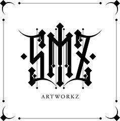 SMZ artworkz logo (samezzz) Tags: logo design graphic gothic clean illustrator vector smz