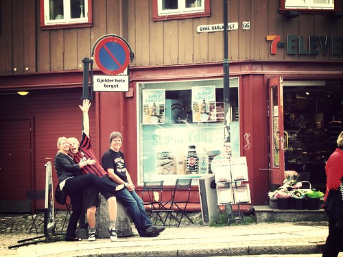A day in Trondheim.