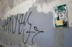 Harmoney (phillytrax) Tags: city urban usa streetart philadelphia america graffiti stickerart unitedstates pennsylvania pa curly philly tagging oldcity blankwall slaps cityofbrotherlylove