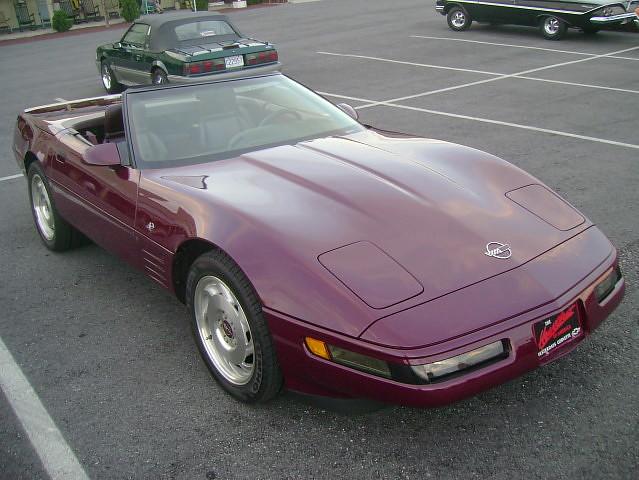 convertible 1993 chevy corvette c4 cruisenight 40thanniversary glenrockpa marketsatshrewsbury