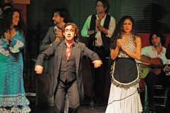 Flamenco3 (tramsteer back from nuero stuff) Tags: people person dance spain seville activity flamenco romany tramsteer