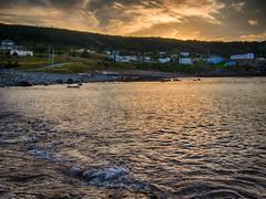 Evening in Flatrock (Tk_White) Tags: ocean sunset water newfoundland landscape prime olympus shore 17 20mm hdr omd flatrock em5