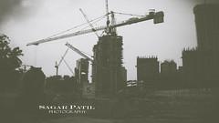 DSC_0310 (kartik_patil17) Tags: city blackandwhite evening construction fujifilm mumbai bnw vsco vscocam