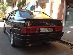 Alfa Romeo 75 (vignaccia76) Tags: auto cars car automobile fil turbo 1991 75 alfaromeo alfa75