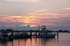 IMG_1194 (dougschneiderphoto) Tags: sunset summer vacation sky usa sun ny newyork water island evening twilight dock afternoon dusk longisland setting fireisland greatsouthbay suffolkcounty fairharbor sixish