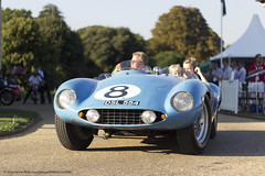 1955 Ferrari 500 Mondial Scaglietti Spyder (Spanish Coches) Tags: blue london 1955 azul convertible ferrari bleu londres ocho 500 eight mondial syonpark salonpriv concursdelgance 1955ferrari500mondialscagliettispyder
