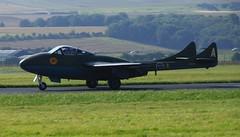 SE-DXT DH 115 Vampire. (IMG_0868) (Robert G Henderson (Romari).) Tags: scotland sweden fife aviation swedish september leuchars 2013 sedxt