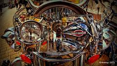 Harley Davidson Collage,Groningen stad,the Netherlands,Europe (Aheroy) Tags: street city holland art netherlands dutch collage fun town europe different nederland motorcycles fisheye harleydavidson motor groningen stad tonemapped singlerawhdr aheroy aheroyal beautifulgroningen canonef815mmf4lfisheye