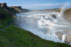 Gullfoss (Tonton Dave) Tags: water river landscape waterfall iceland eau rivière paysage cascade gullfoss islande