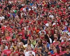 University of Arkansas Razorbacks vs Texas A&M Aggies Football (Garagewerks) Tags: man male college ex sport football am texas sony sigma os apo arkansas fans sec f28 dg razorbacks universityofarkansas a77 70200mm aggies texasamuniversity hsm