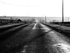 . (hornbeck) Tags: morning blackandwhite bw oklahoma bnw