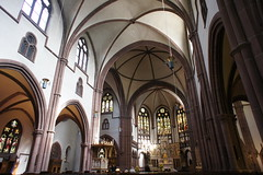 Heppenheim church interior