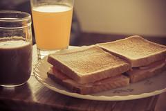 309 / 365. (zamax4) Tags: food orange ice coffee yummy cafe juice comida naranja sandwichs jugo