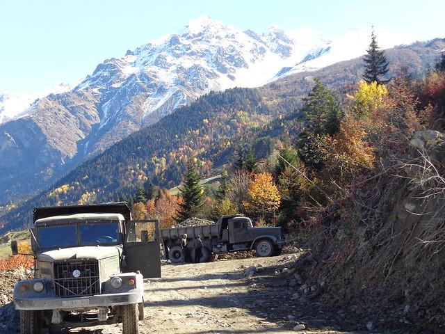 Rodamundos: Por el valle de Svaneti. Caucaso