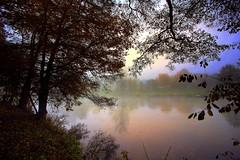 morn by the lake (MarcelXYZ) Tags: morning mist lake fog canon landscape drohiczyn cesarz marcelxyz