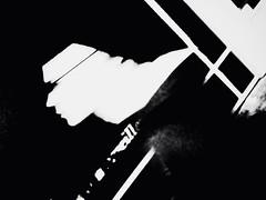 No 99 ((LP)) Tags: street blackandwhite man paris contrast dark movement blurry moody noiretblanc profile contraste profil homme mouvement noirfilter
